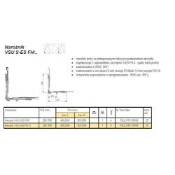 Narożnik VSU S-ES FH/13 TS K25