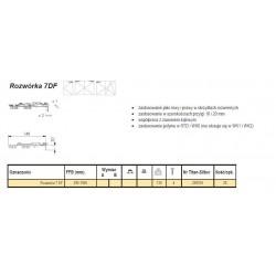 Rozwórka 7 DF podkładka TS K25